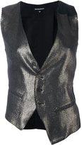 Ann Demeulemeester metallic waistcoat