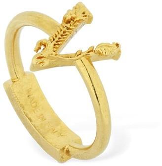 Versace Virtus Thin Ring