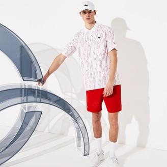 Lacoste Men's SPORT Novak Djokovic Breathable Stretch Shorts