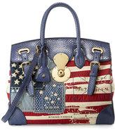Ralph Lauren American Flag Ricky Bag, Red/Blue