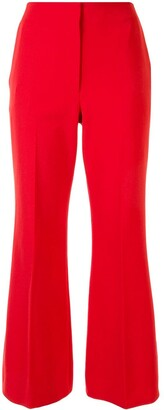 Proenza Schouler Cropped Flared Trousers