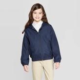 Cat & Jack Girls' Uniform Windbreaker Jacket - Cat & JackTM Navy
