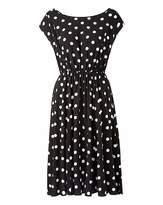 Scarlett & Jo Viscose Spot Dress
