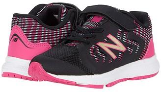 New Balance 519v2 (Infant/Toddler) (Black/Bali Blue) Girl's Shoes