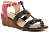 Geox Lupe Two-Tone Wedge Sandal