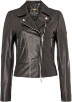 Barbour International Stroma Leather Jacket