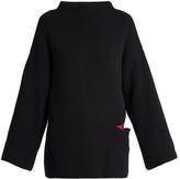 Stella McCartney Oversized wool and silk-blend sweater