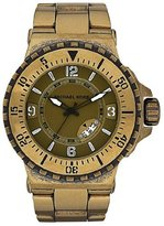 Michael Kors Men's MK7063 Bronze-Plated Bracelet Watch