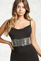 Forever 21 FOREVER 21+ Chainmail Corset Belt