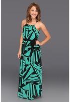 Type Z Krista Maxi Dress W/Belt (Green) - Apparel