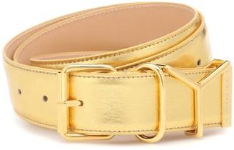 Y/Project Metallic leather belt
