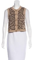 See by Chloe Patterned Sweater Vest