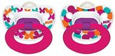 NUK Elephants & Butterflies Puller Pacifier in Assorted Colors and Styles, 6-18 Months by
