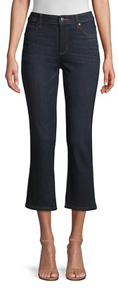 Eileen Fisher High-Waist Crop Jeans