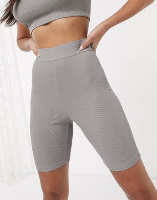Asos Design DESIGN lounge mix & match legging short-Grey