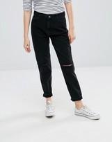 Minimum Andi Boyfriend Rip Jeans