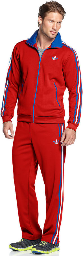 adidas Pants, Slipt Strip Originals Firebird Track Pant