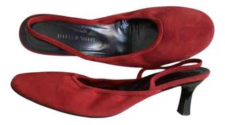 Isabel Marant Red Suede Heels