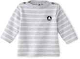 Petit Bateau Baby sailor shirt in heavy jersey