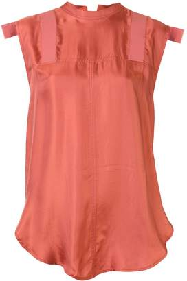 Lee Mathews Edie tie back blouse