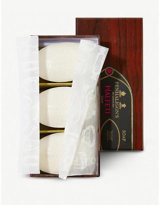 Penhaligon's Halfeti fragranced soap pack of three