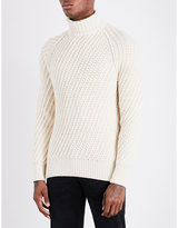 Tom Ford Turtleneck Knitted Cashmere And Wool-blend Jumper