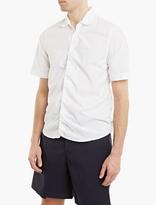 Marni White Elasticated Collar Shirt
