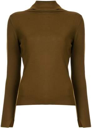TOMORROWLAND fine knit roll neck jumper