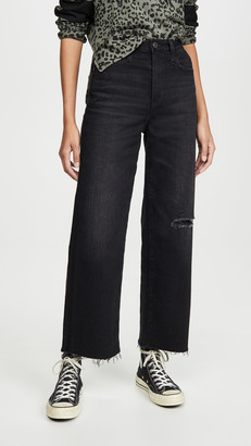 AG Jeans The Etta High Waisted Wide Leg Crop Jeans