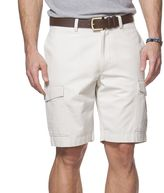 Chaps Big & Tall Canvas Cargo Shorts
