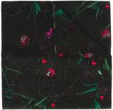 Paul Smith plant print scarf
