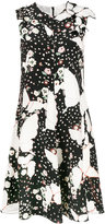 Valentino Pop Butterflies print dress - women - Silk - 40