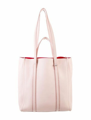 Marc Jacobs Leather Tote Bag Pink