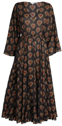 Rhode Resort Emily V-Neck Maxi Dress