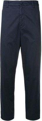 Dondup Straight Cropped Trousers