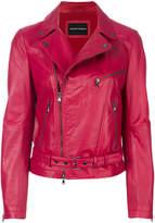 Emporio Armani classic biker jacket