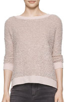 Calvin Klein Textured Long Sleeve Sweater