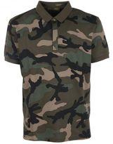 Valentino Camouflage Polo Shirt