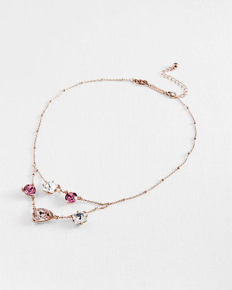 Ted Baker Crystal Candy rose-gold tone necklace