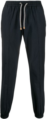 Eleventy Elasticated Tapered Trousers