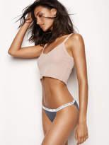 Stretch Cotton String Bikini Panty
