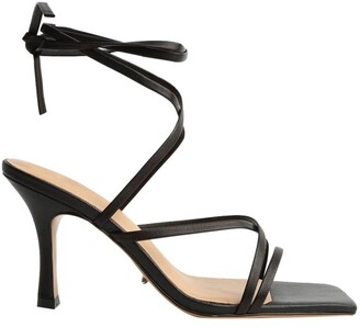 Tony Bianco Caden Black Sheep Nappa Heels