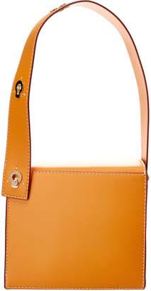 Danse Lente Square Leather Shoulder Bag