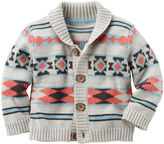 Carter's Aztec Print Sweater - Baby Boys newborn-24m
