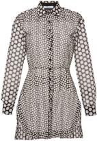 Blumarine Broderie Anglais Shirt Dress
