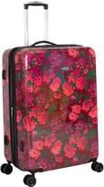 "Isaac Mizrahi Live! Irwin 2 26"" 8-Wheel Spinner Luggage - Floral"