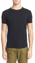 Wings + Horns Ribbed Slub Cotton T-Shirt