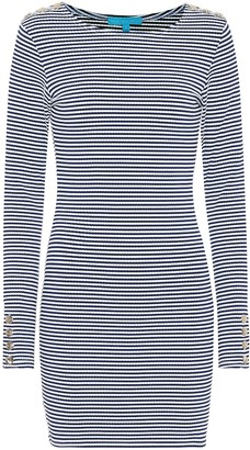 Melissa Odabash Agata striped minidress