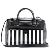 Marc Jacobs SMALL ANTONIA STRIPED LEATHER BAG