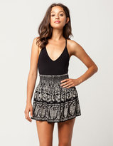 Patrons Of Peace Floral Paisley Skirt